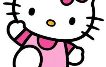 Hello Kitty en Rosa